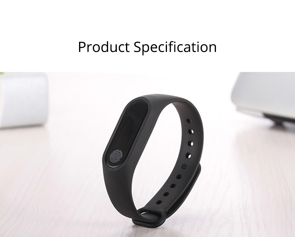 Waterproof Sports Bluetooth Smart Bracelet for Attendance Clock System, Call Reminder and Rate Monitoring 8