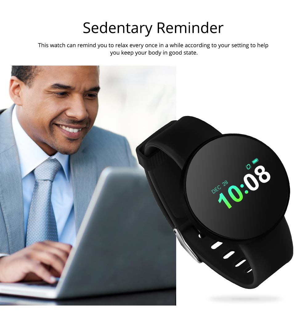 Sports Smart Watch Smart Silicone Bracelet with Touch Screen Bluetooth Pedometer for Children's Gift 6
