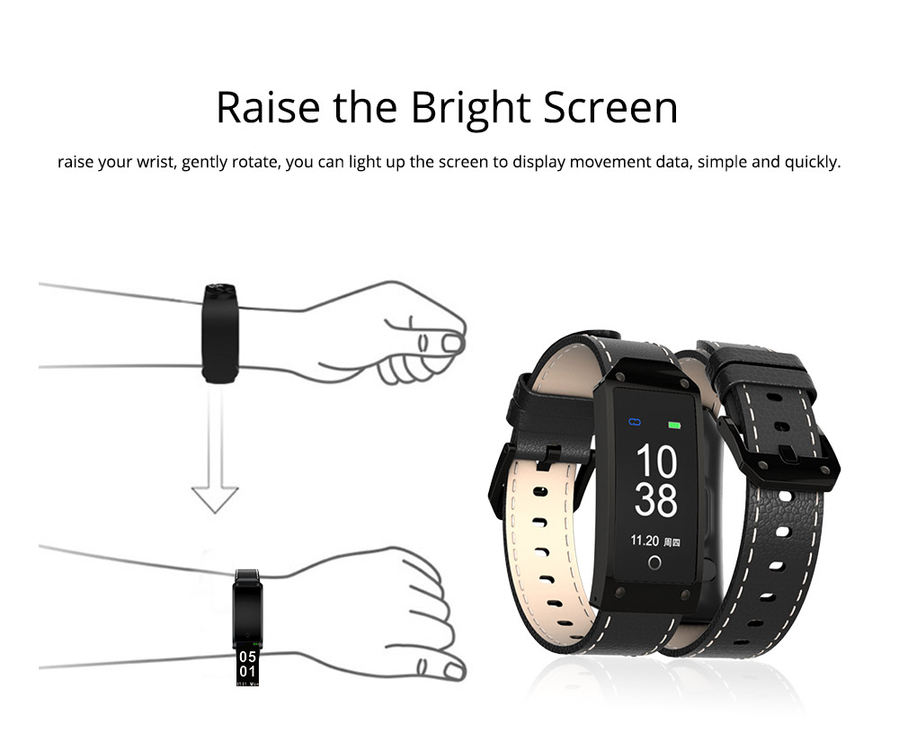 Smart Bracelet with GPS Positioning for Continuous Heart Rate Monitoring and Call Reminder 4