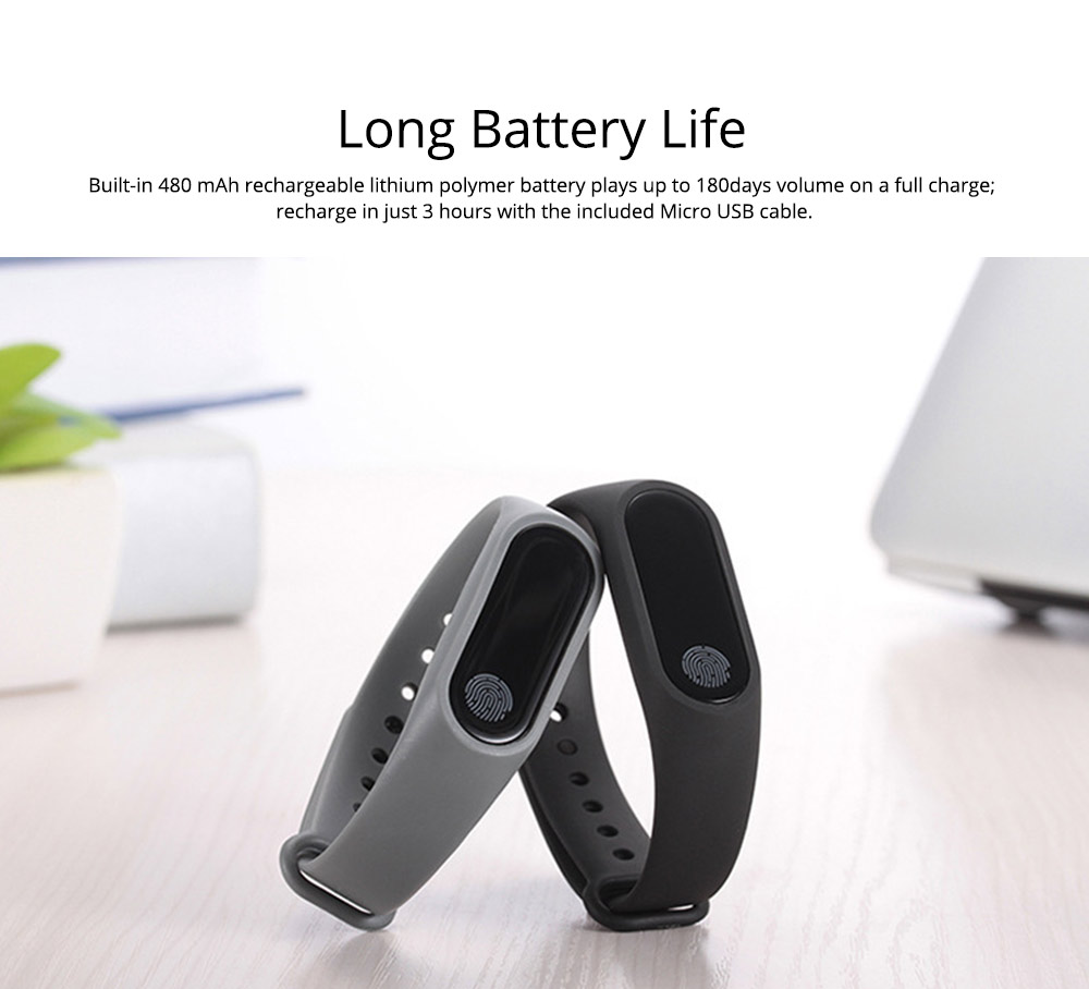 Waterproof Sports Bluetooth Smart Bracelet for Attendance Clock System, Call Reminder and Rate Monitoring 7