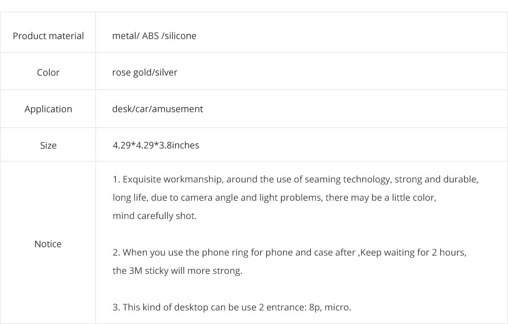 Aluminum Desktop Mobile Phone Charging Base Station Holder for Apple Android Smart Phone 10
