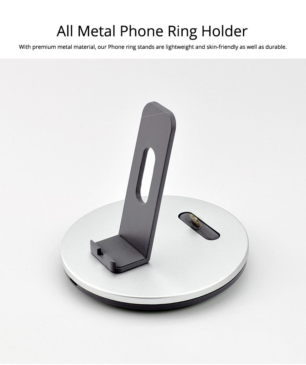 Aluminum Desktop Mobile Phone Charging Base Station Holder for Apple Android Smart Phone 1