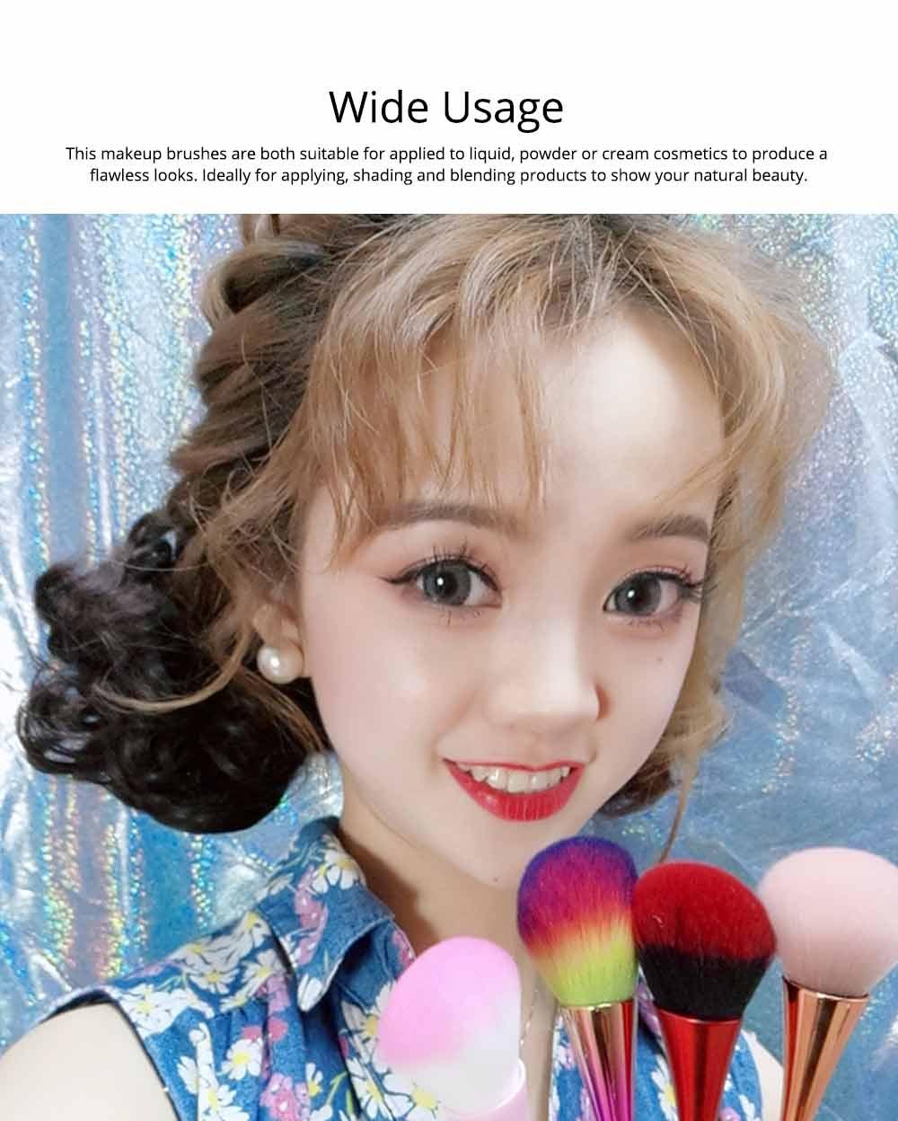 Multifunctional Makeup Brush with Small Pretty Waist, Beauty Makeup Blush Powder Painting as Powder Paint and Blush Brush 6