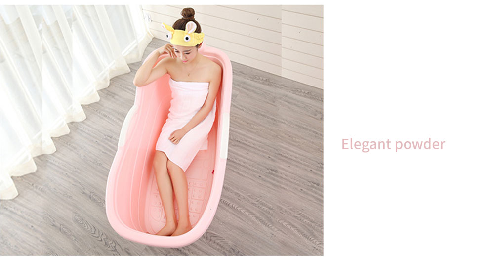 Large Collapsible Bathtub, Portable Collapsible Bathtub For Adults 28