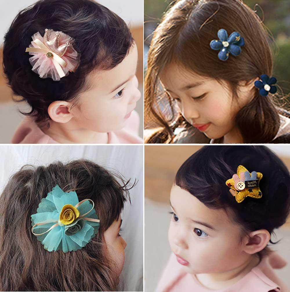 Cute Cartoon 18 PCS Hair Accessories, Hair Ornaments Barrette Birthday Gift Present Award For Girls 10