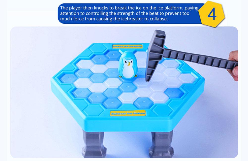 Tricky Funny Penguin Saving Ice-breaking Table Game For Children 15