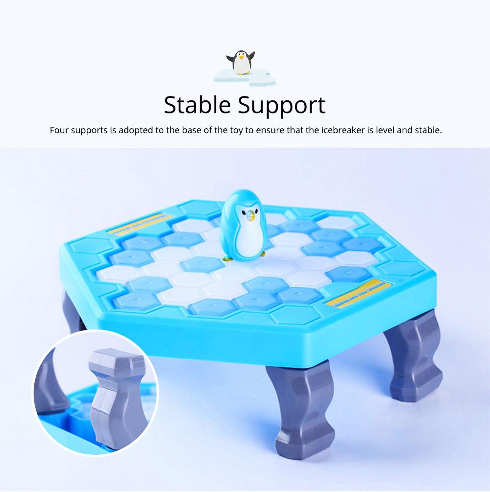 Tricky Funny Penguin Saving Ice-breaking Table Game For Children 4