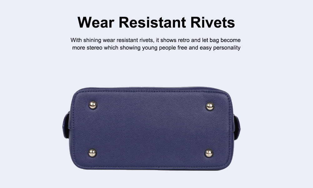 Small Square Package With Smooth Metal Zipper, Female Shoulder Bag with Adjustable Hand Strap 5