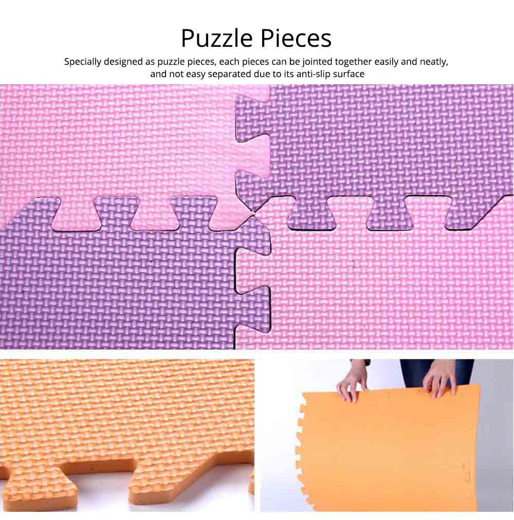 Baby Play Foam Mat, Nontoxic Puzzle Foam Pad, Baby Crawls Cushion 8