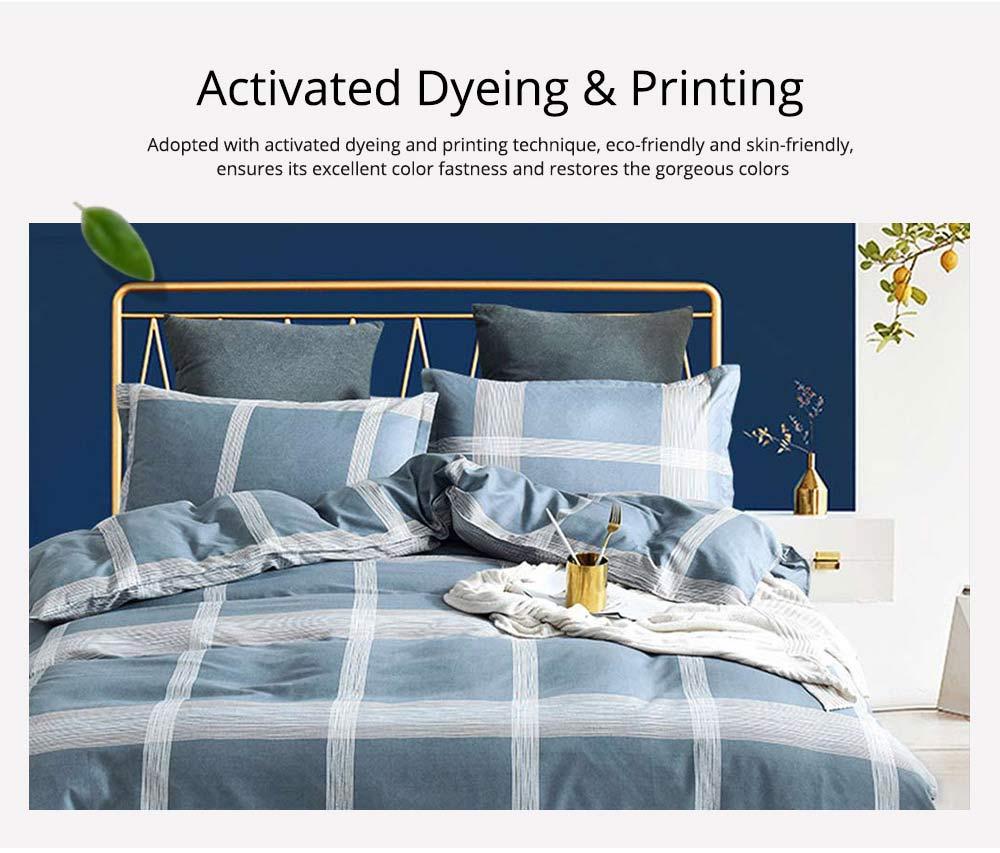 Australia Brushed Cotton Bedding Set 4 Pieces, 200*230 CM Bedding Set 2