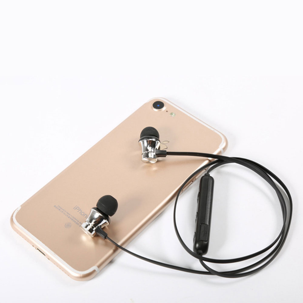 Magnetic Sports Music 4.2 In-Ear Bluetooth Headset, Neck-mounted Bluetooth Headset 9