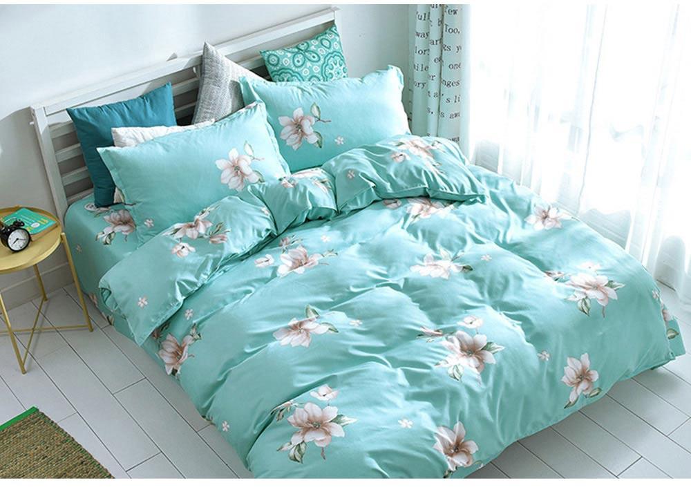 Australia Brushed Cotton Bedding Set 4 Pieces, 200*230 CM Bedding Set 7