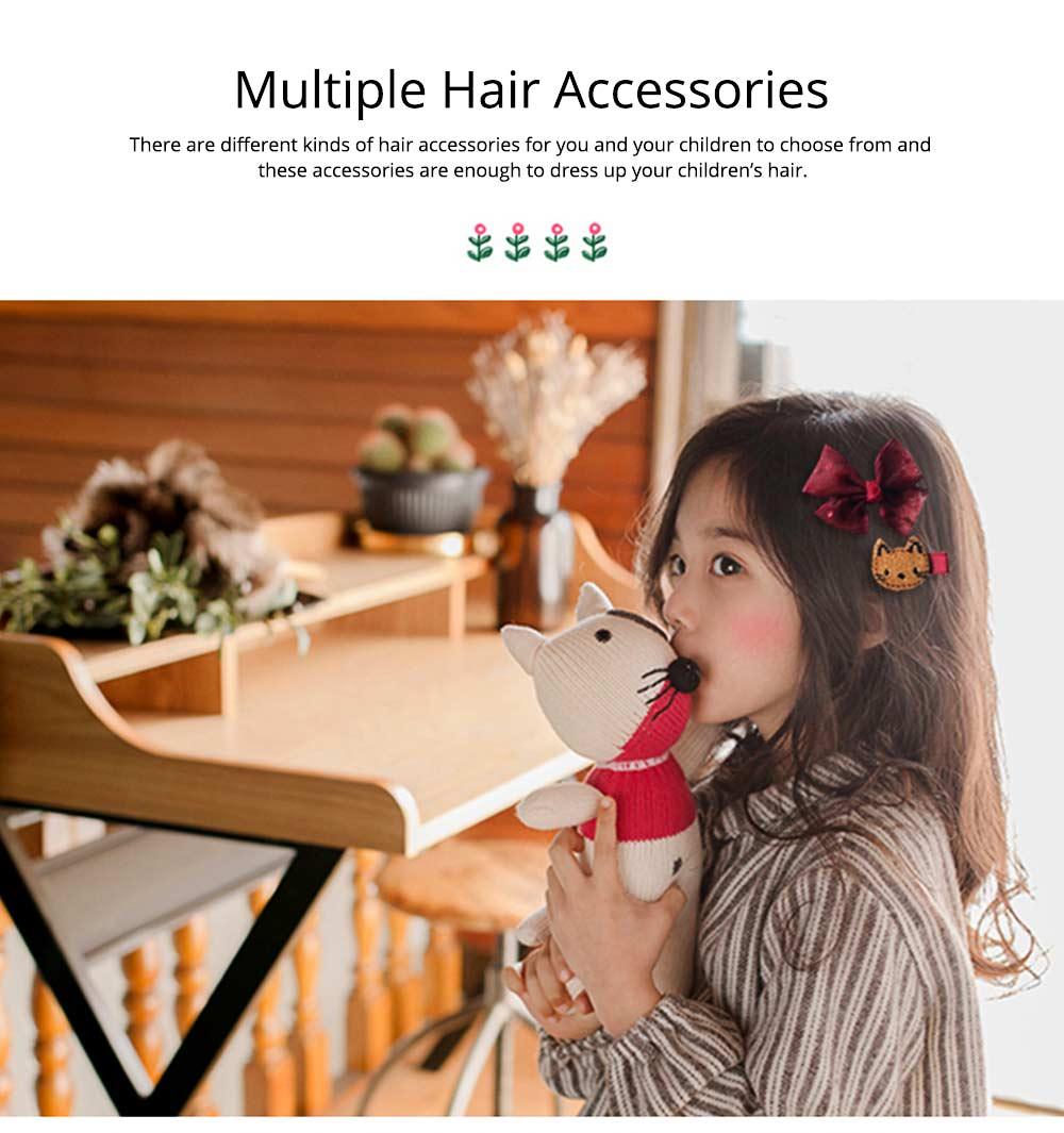 Cute Cartoon 18 PCS Hair Accessories, Hair Ornaments Barrette Birthday Gift Present Award For Girls 9