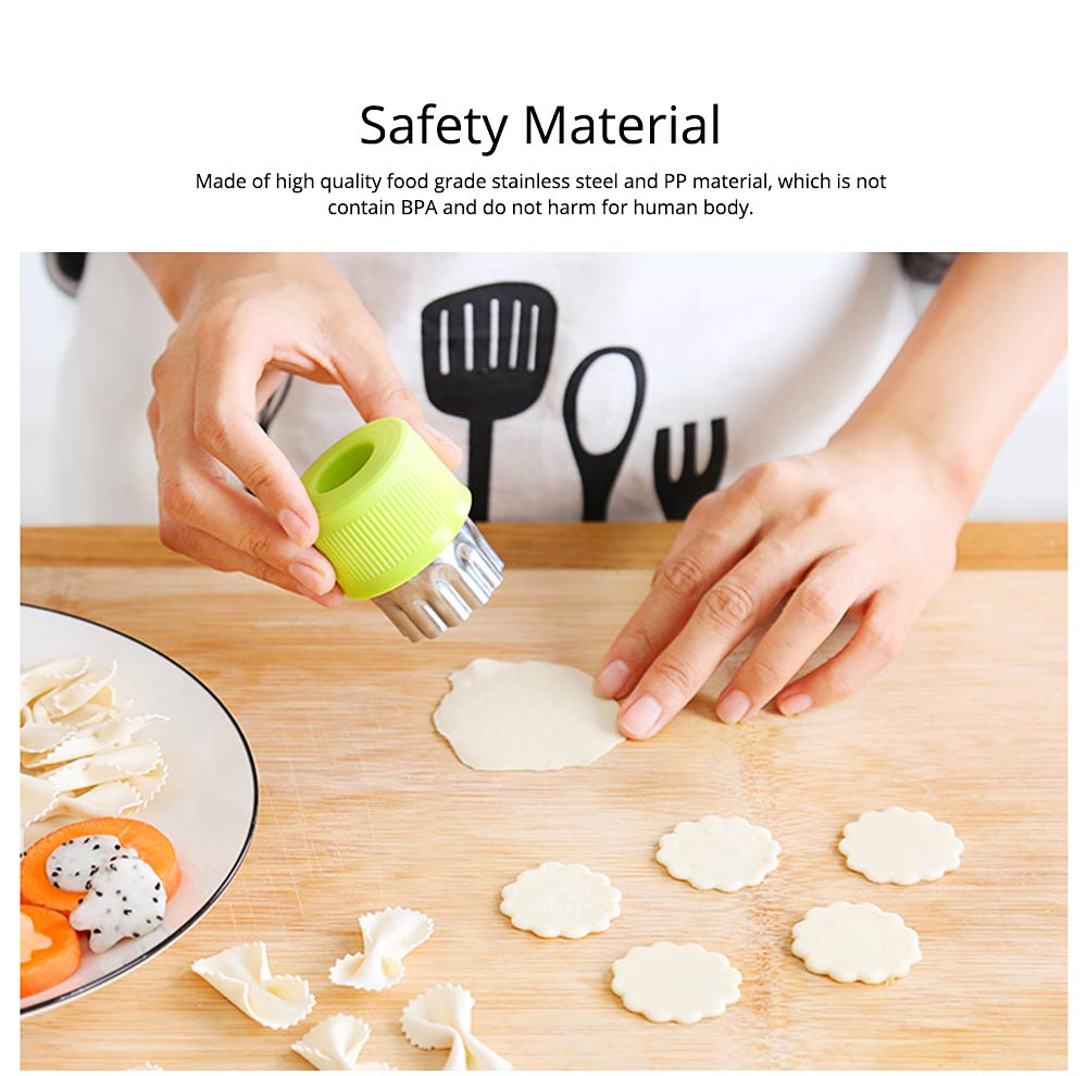 Vegetables and Fruit Shape Cutters Set, Stainless Steel Baking Cookie Mold ( 8PCS/12PCS) 1