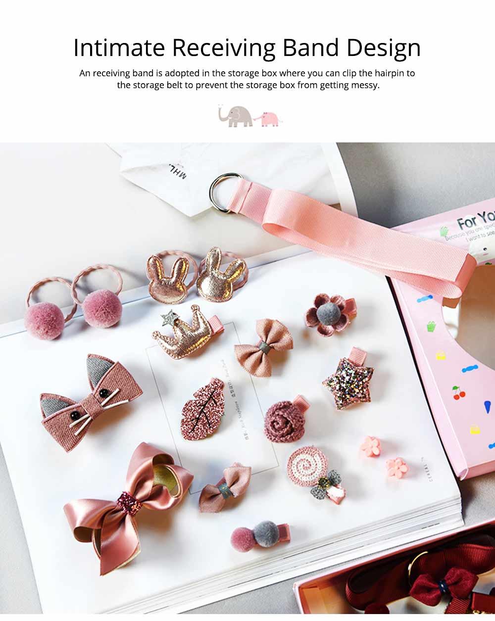 Cute Cartoon 18 PCS Hair Accessories, Hair Ornaments Barrette Birthday Gift Present Award For Girls 5