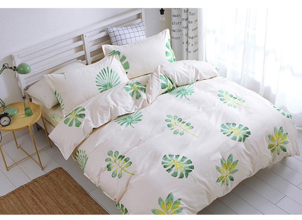 Australia Brushed Cotton Bedding Set 4 Pieces, 200*230 CM Bedding Set 8