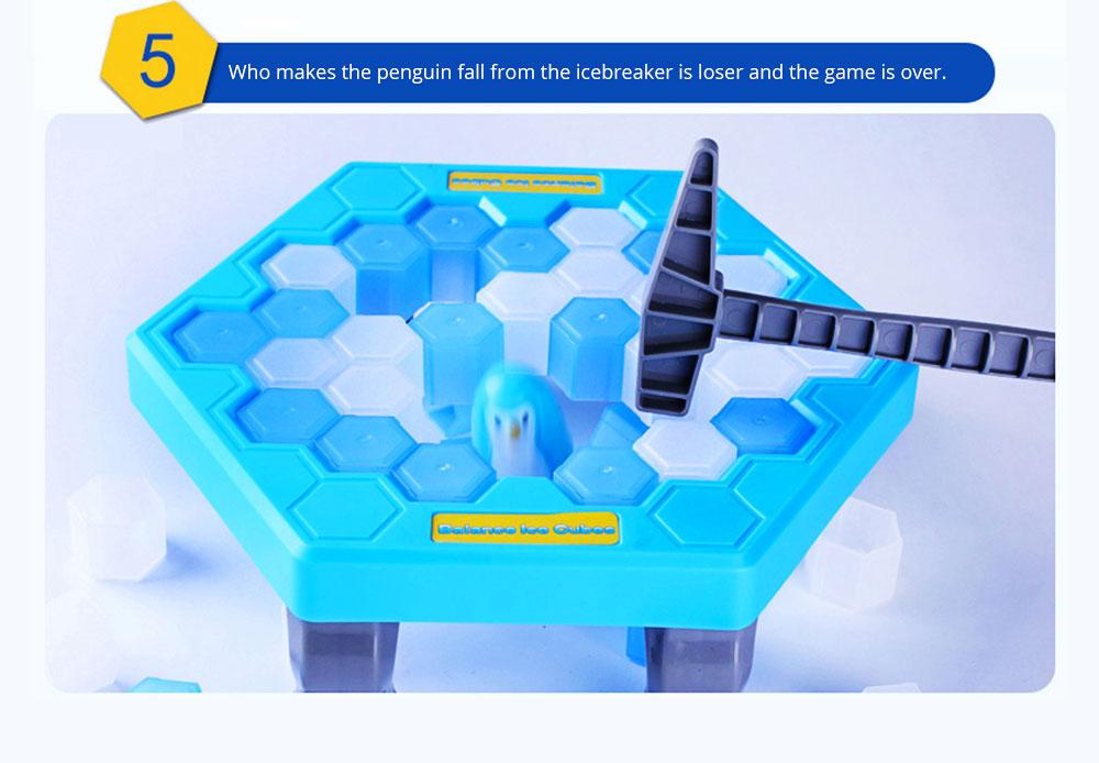 Tricky Funny Penguin Saving Ice-breaking Table Game For Children 16