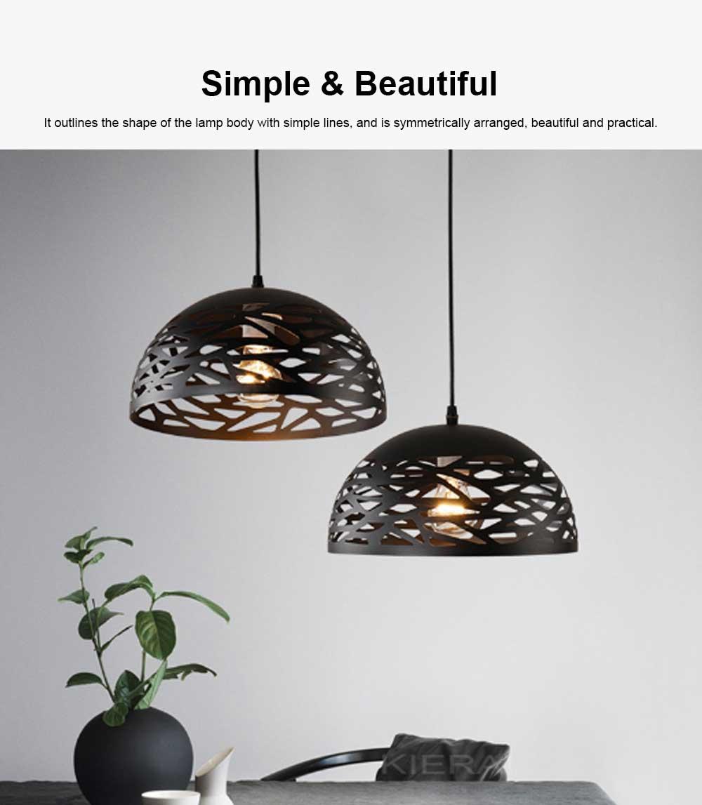 Semicircular lid chandelier, Creative Chandelier for Restaurant, Café, Food City 4