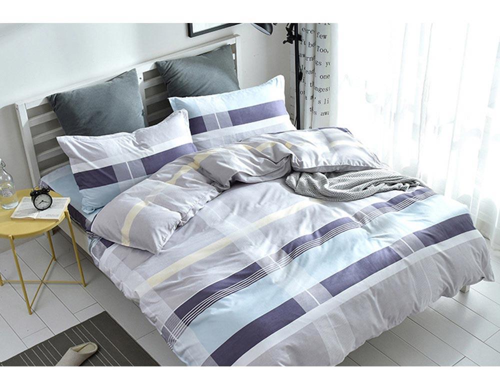 Australia Brushed Cotton Bedding Set 4 Pieces, 200*230 CM Bedding Set 10