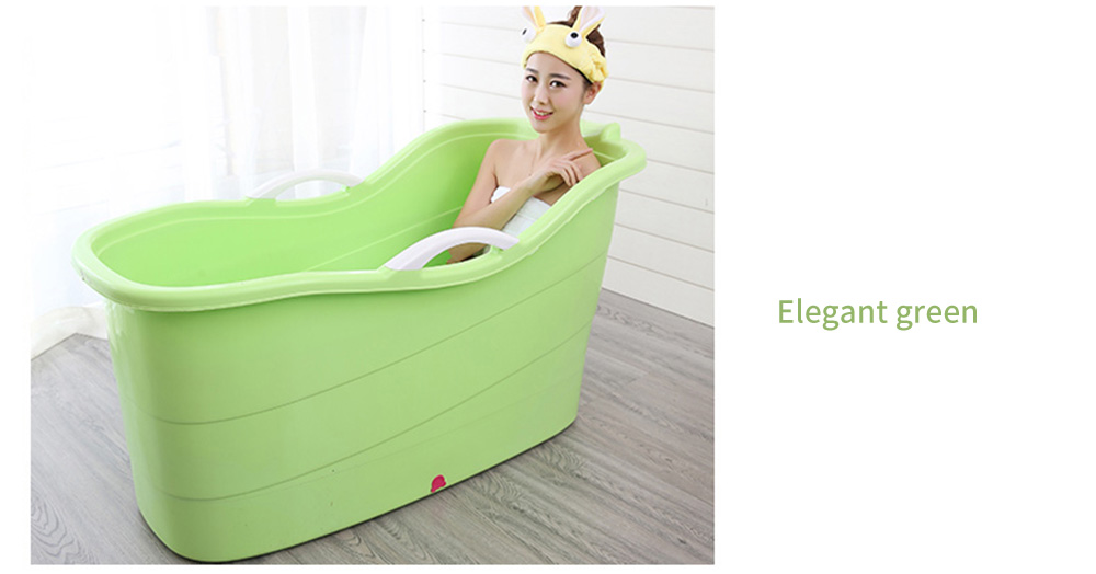 Large Collapsible Bathtub, Portable Collapsible Bathtub For Adults 24