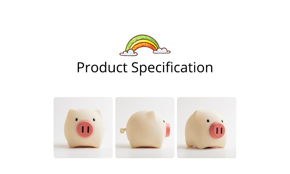 Pig Night Light, Ultrasoft Skin-friendly Silicone Piggy Light Present For Girls or Child 15