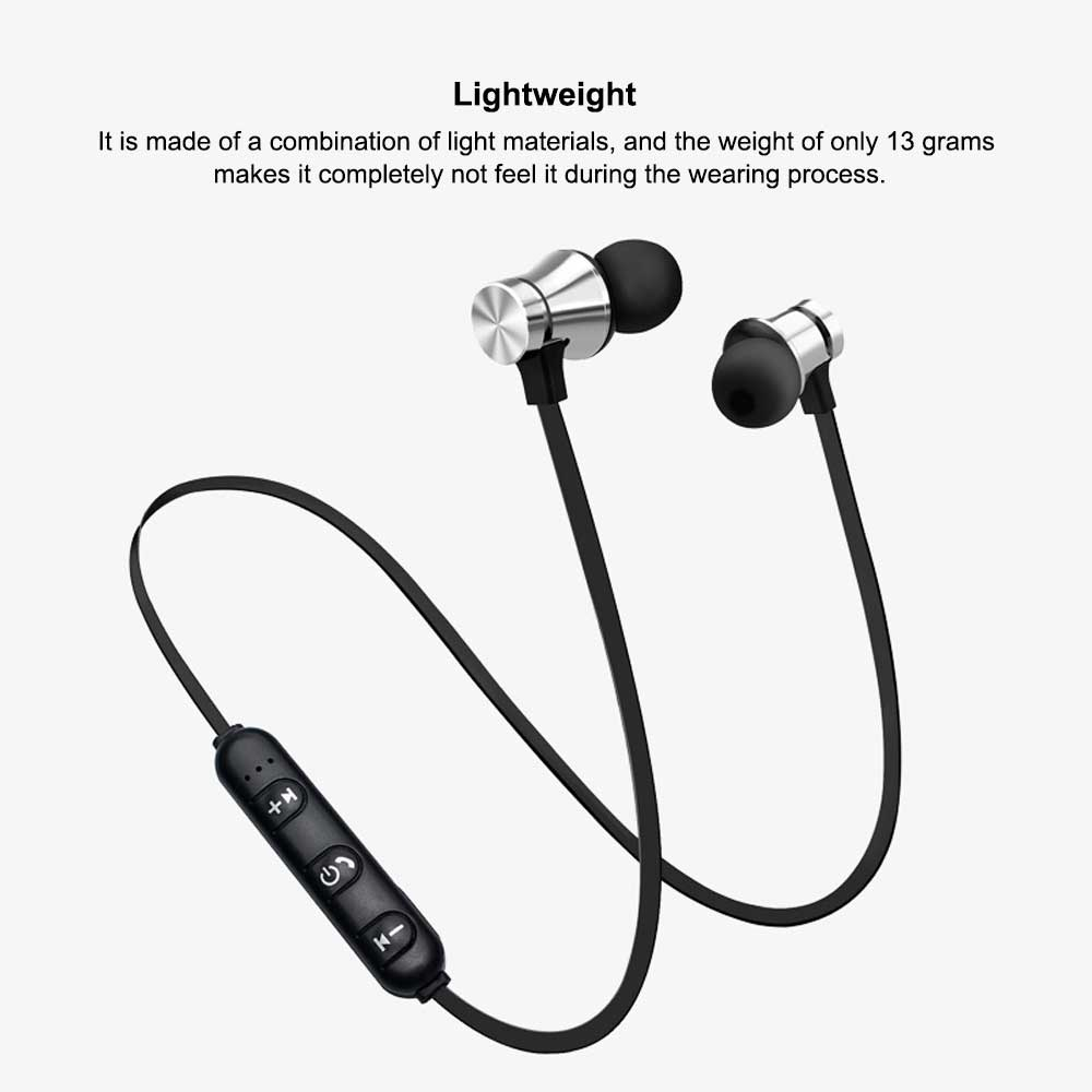 Magnetic Sports Music 4.2 In-Ear Bluetooth Headset, Neck-mounted Bluetooth Headset 1