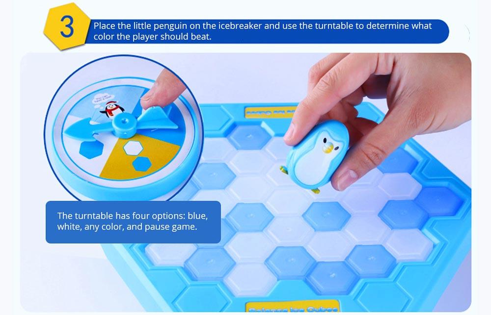 Tricky Funny Penguin Saving Ice-breaking Table Game For Children 14