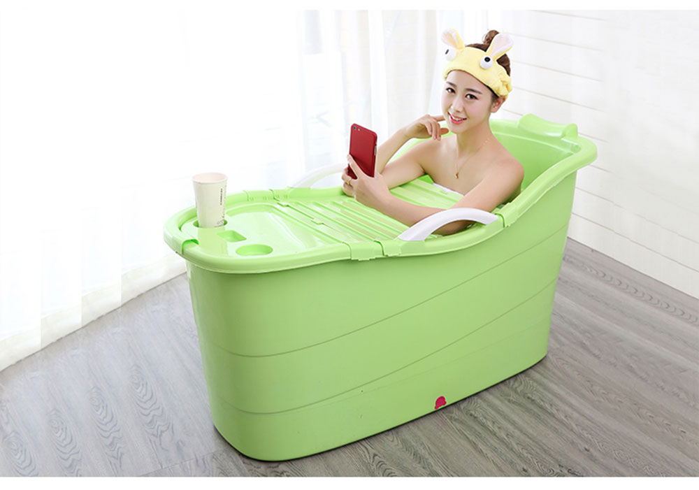 Large Collapsible Bathtub, Portable Collapsible Bathtub For Adults 23