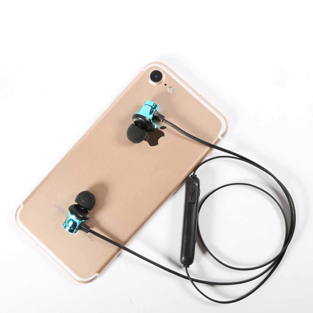 Magnetic Sports Music 4.2 In-Ear Bluetooth Headset, Neck-mounted Bluetooth Headset 8