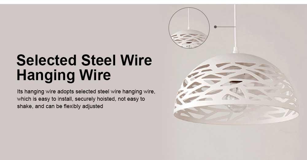 Semicircular lid chandelier, Creative Chandelier for Restaurant, Café, Food City 5