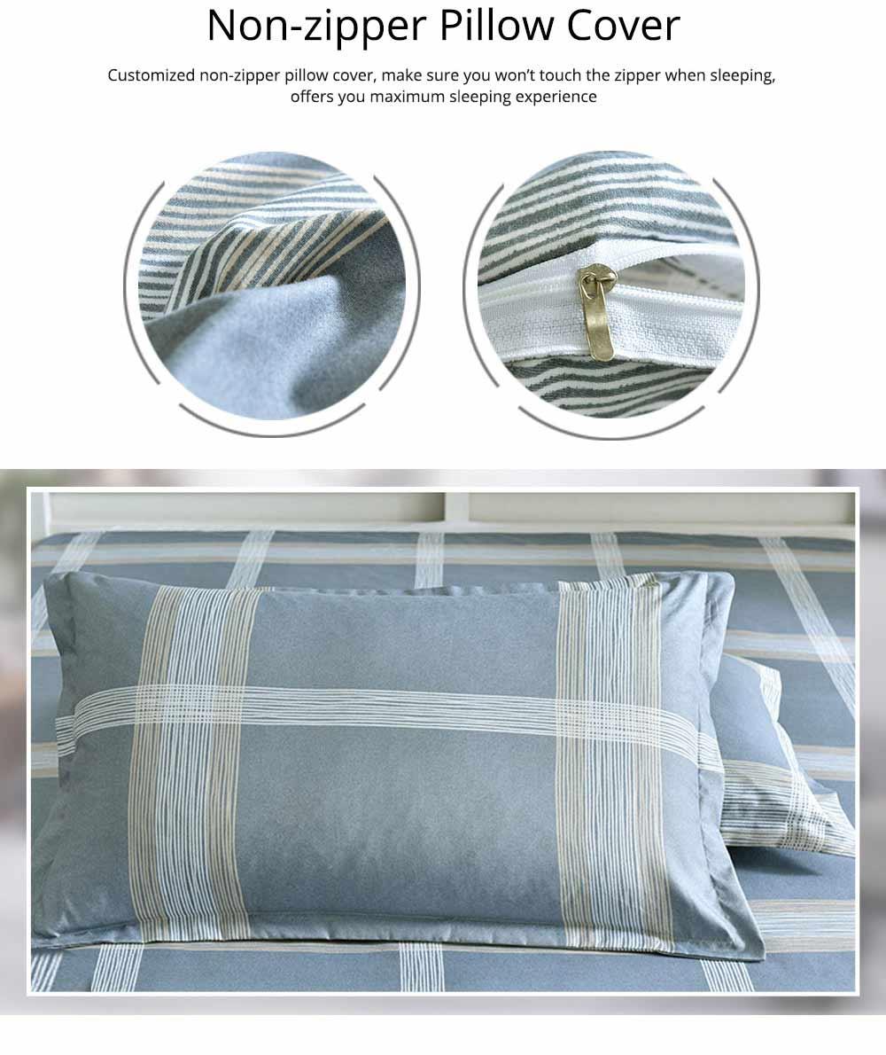 Australia Brushed Cotton Bedding Set 4 Pieces, 200*230 CM Bedding Set 12