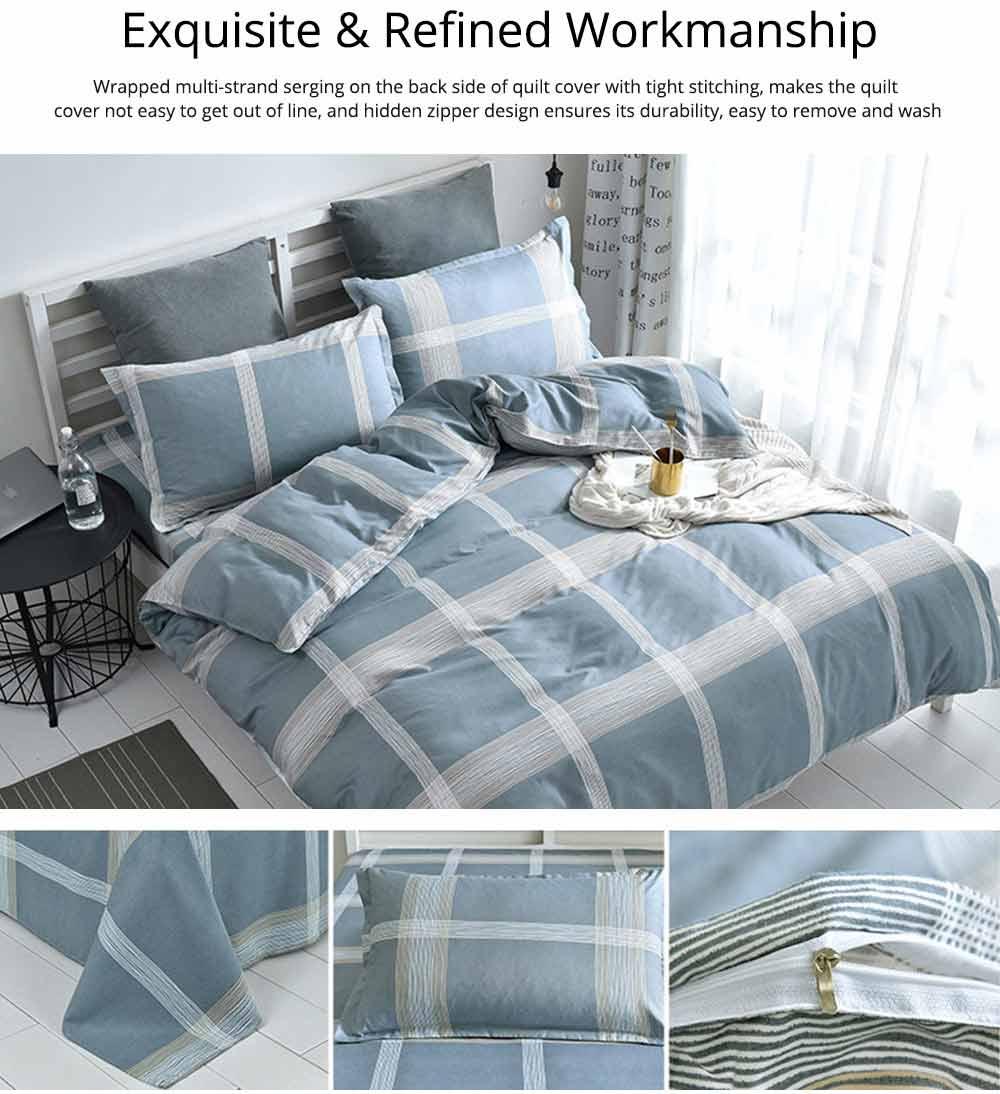 Australia Brushed Cotton Bedding Set 4 Pieces, 200*230 CM Bedding Set 4