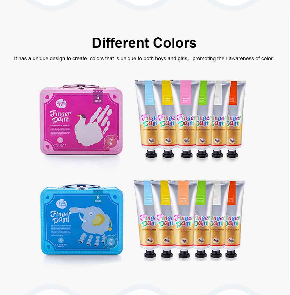 Painting Tool Box For Children, Washing Coloring Painting Material Painting Tool Suitcase 2