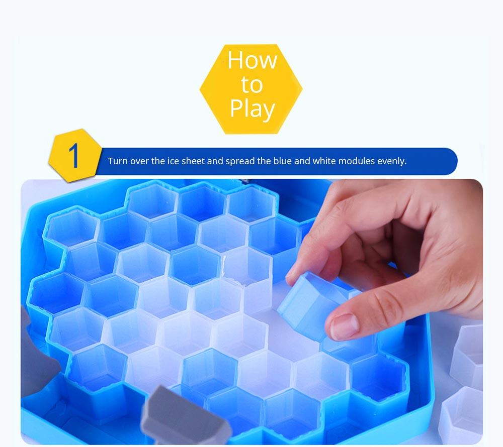Tricky Funny Penguin Saving Ice-breaking Table Game For Children 12