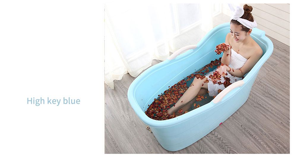 Large Collapsible Bathtub, Portable Collapsible Bathtub For Adults 26