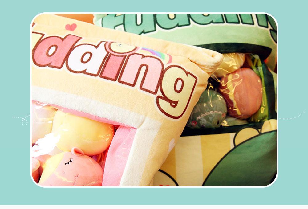 Cartoon Animal Marshmallow Balls Kids Comforting Stuffed Toy Gift Plush Pendant Soft Toys Keychain Doll, Kids Christmas Gift, Tree Decor 2
