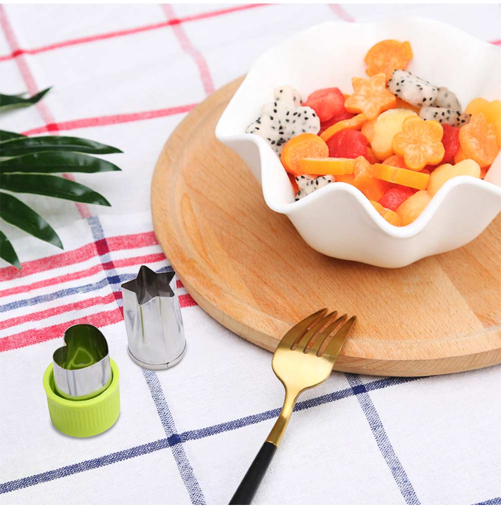 Vegetables and Fruit Shape Cutters Set, Stainless Steel Baking Cookie Mold ( 8PCS/12PCS) 7