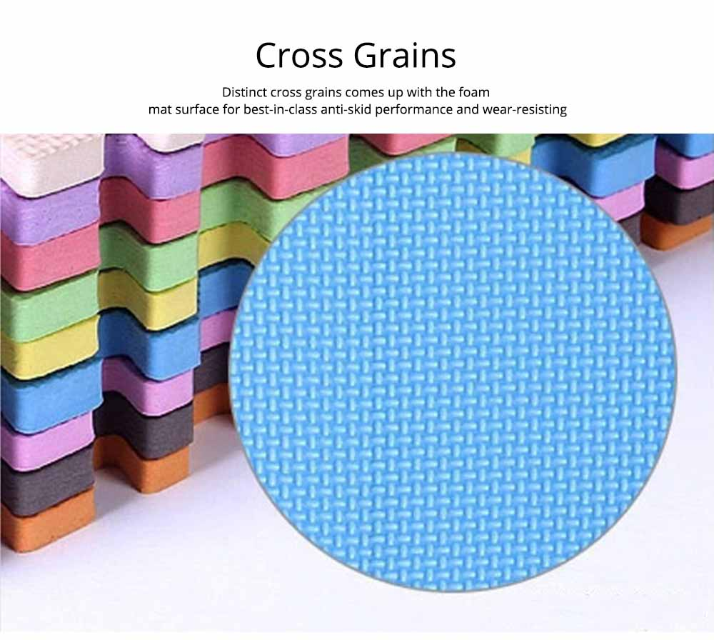 Baby Play Foam Mat, Nontoxic Puzzle Foam Pad, Baby Crawls Cushion 10