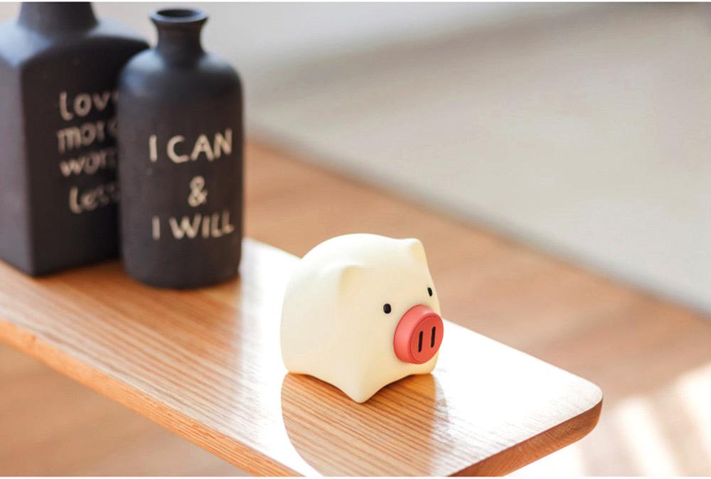 Pig Night Light, Ultrasoft Skin-friendly Silicone Piggy Light Present For Girls or Child 10