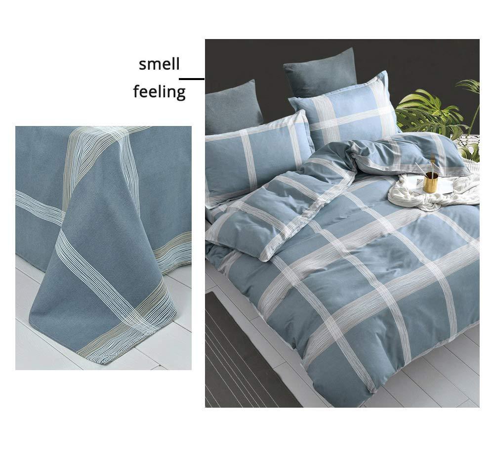Australia Brushed Cotton Bedding Set 4 Pieces, 200*230 CM Bedding Set 3
