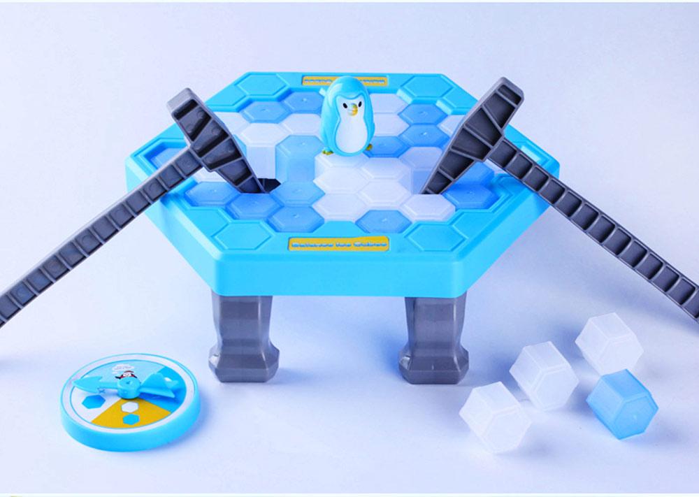 Tricky Funny Penguin Saving Ice-breaking Table Game For Children 3