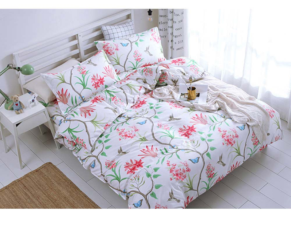 Australia Brushed Cotton Bedding Set 4 Pieces, 200*230 CM Bedding Set 11