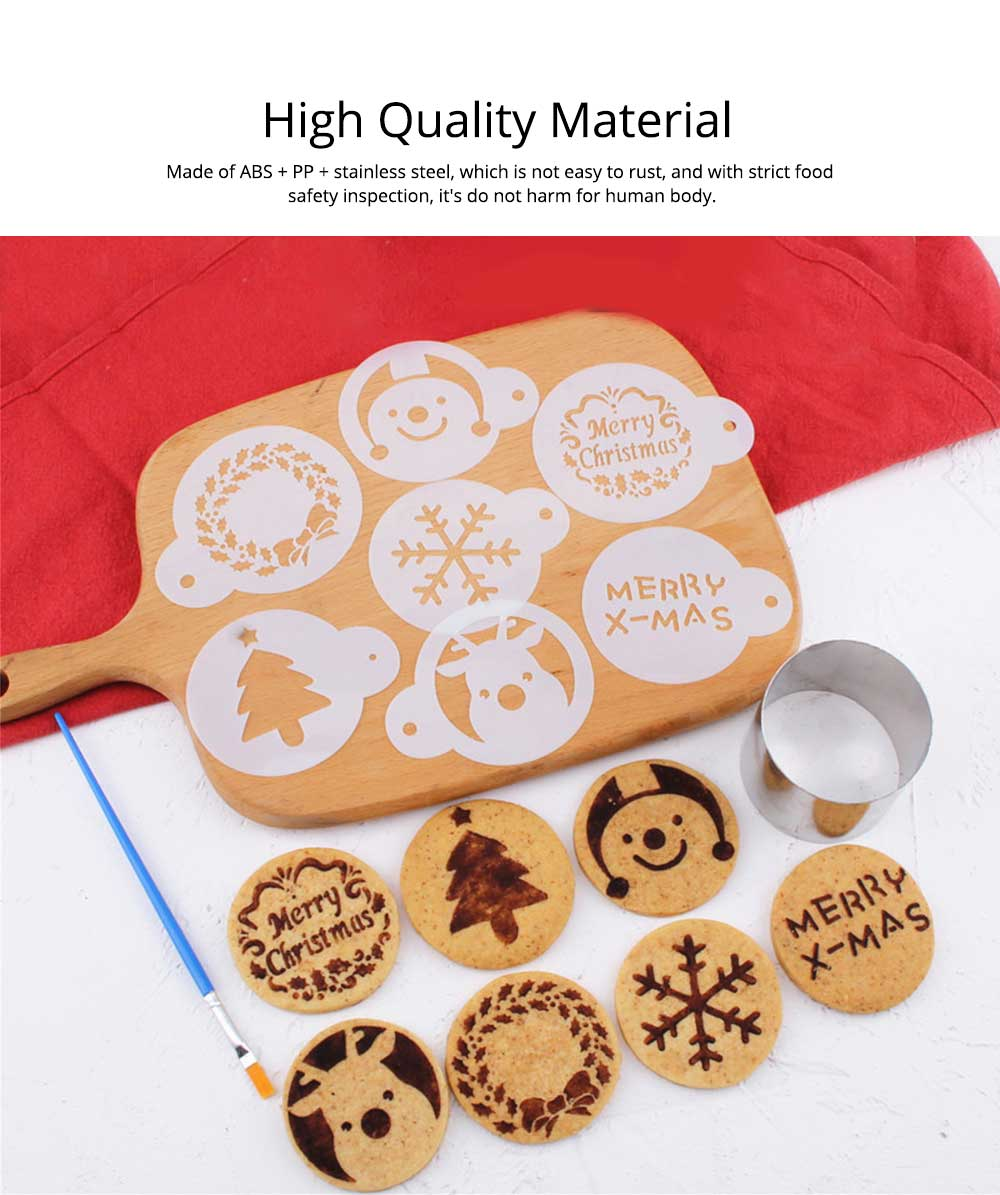 Mini Christmas Cookie Cutter Set, Stainless Steel Biscuit Mold Set 1