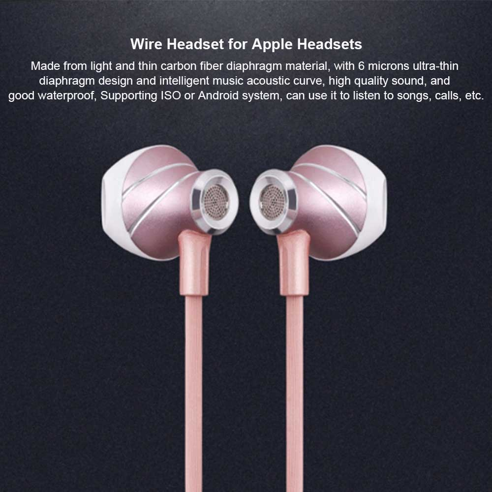 Earpods for Apple Wire Headsets, Sports Bluetooth Headset 0