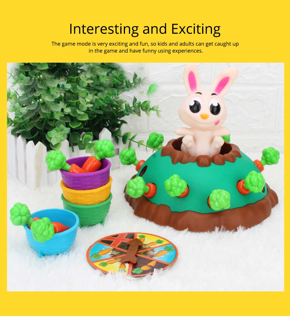 Funny Jumping Rabbit Bounce Carrots Children's Toy, Parent-Child Interactive Tricky Toy 6