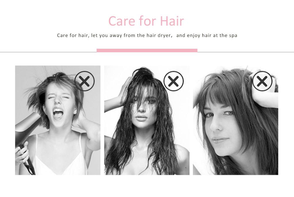 Super Absorbent Hair Drying Cap, Bow Absorbent Coral Velvet Magic Shower Cap 4