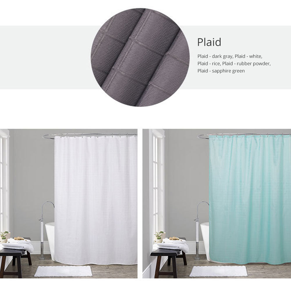 Bathroom Partition Curtains Thicken Waterproof And Mildew Proof Polyester Curtain 9