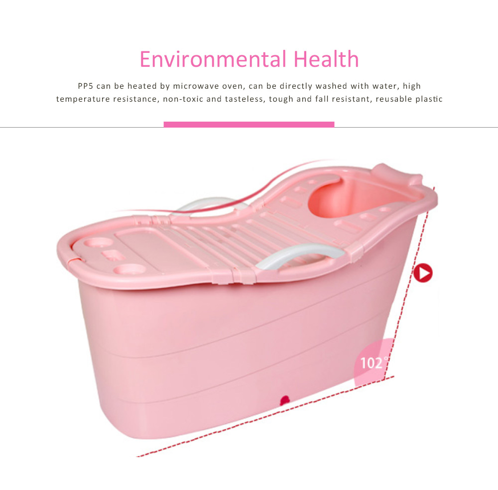 Portable Bathtub For Adults Female Plastic Adult Bath Tub 5