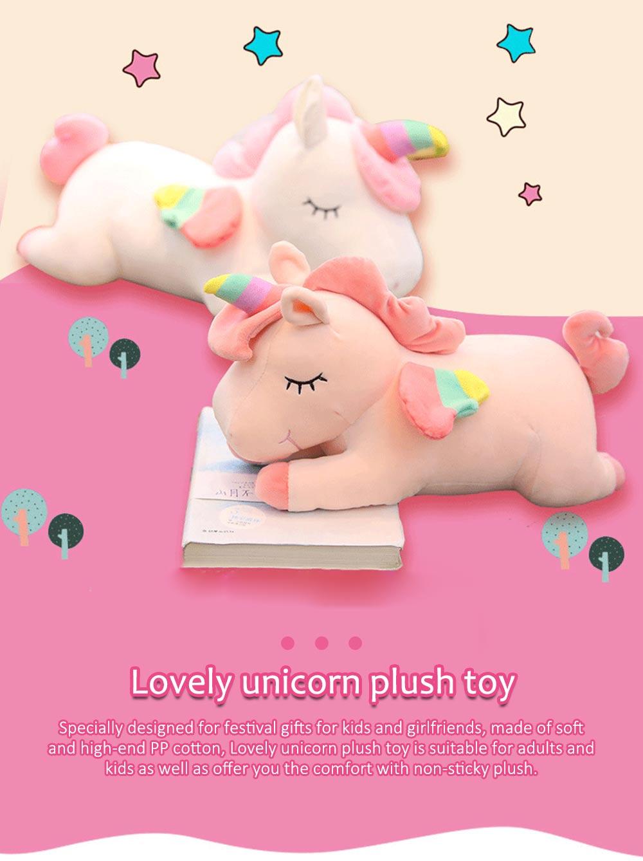 Lovely Unicorn Soft Plush Toy, Large Girl Pillow Birthday Gift 0