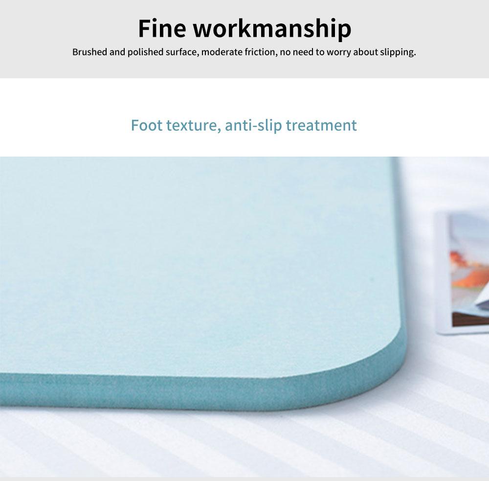Diatomaceous Earth Mat, Water Absorption Anti-slip Bath mats 4